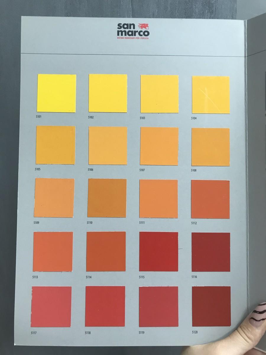 Яркие краски в интерьере